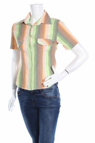 Дамска риза Cotton Lux, Размер M, Цвят Многоцветен, 60% памук, 40% полиестер, Цена 4,50лв.