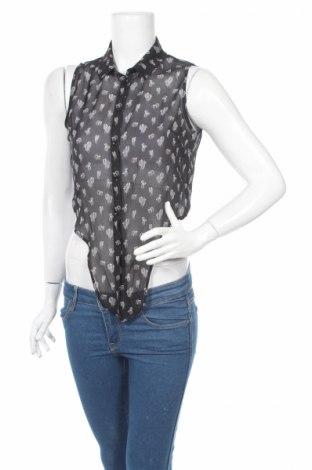 Γυναικείο πουκάμισο G One By Gemo, Μέγεθος S, Χρώμα Μαύρο, Τιμή 3,68€