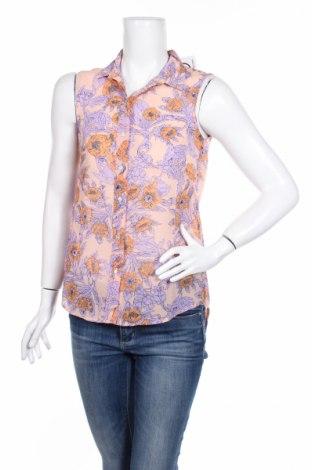 Γυναικείο πουκάμισο H&M, Μέγεθος XS, Χρώμα Πολύχρωμο, 100% πολυεστέρας, Τιμή 3,74€