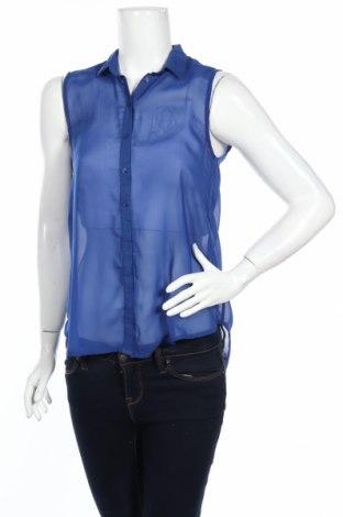 Дамска риза H&M, Размер S, Цвят Син, Цена 5,50лв.