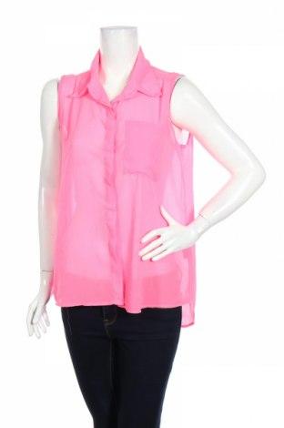 Γυναικείο πουκάμισο Hype, Μέγεθος M, Χρώμα Ρόζ , Πολυεστέρας, Τιμή 3,67€