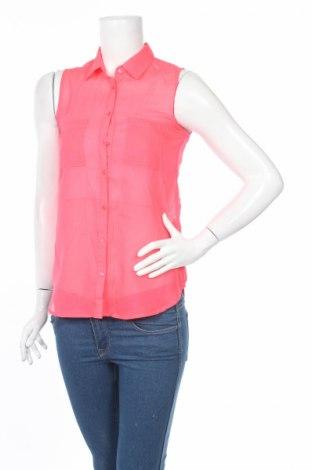 Дамска риза Jennyfer, Размер XS, Цвят Розов, Полиестер, Цена 4,50лв.