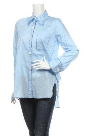 Damska koszula Zara, Rozmiar S, Kolor Niebieski, 100% bawełna, Cena 53,00zł
