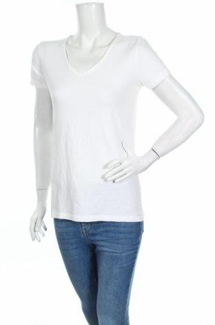 Дамска тениска Andrea Jovine, Размер M, Цвят Бял, 95% памук, 5% еластан, Цена 13,50лв.