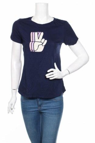 Дамска тениска Old Navy, Размер S, Цвят Син, Памук, Цена 9,00лв.