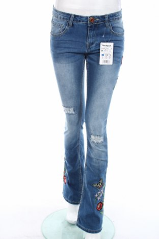 Dámské džíny  Desigual, Rozměr S, Barva Modrá, 70% bavlna, 27% polyester, 3% elastan, Cena  451,00Kč