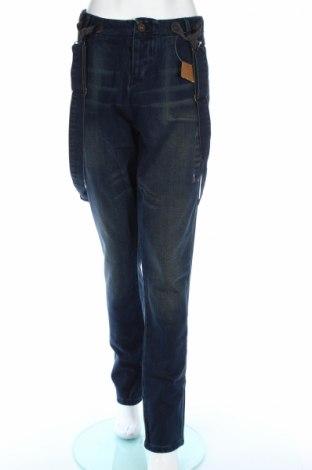 Dámské džíny  Desigual, Rozměr XL, Barva Modrá, 55% bavlna, 45% polyester, Cena  451,00Kč