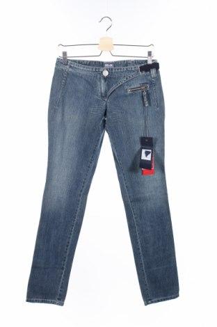 Dámske džínsy  Jean's Paul Gaultier, Veľkosť M, Farba Modrá, Bavlna, Cena  26,13€