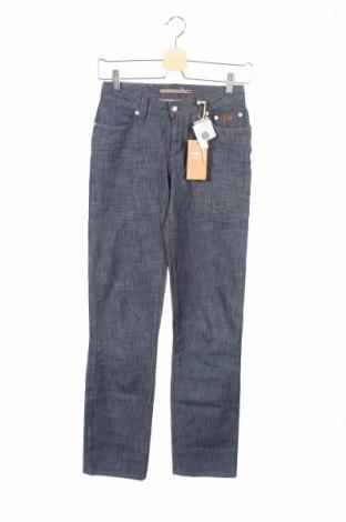 Дамски дънки Siviglia, Размер XS, Цвят Син, 80% памук, 20% други тъкани, Цена 3,22лв.