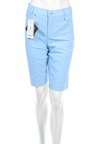 Γυναικείο κοντό παντελόνι Golfino, Μέγεθος XS, Χρώμα Μπλέ, 94% πολυαμίδη, 6% ελαστάνη, Τιμή 14,69€