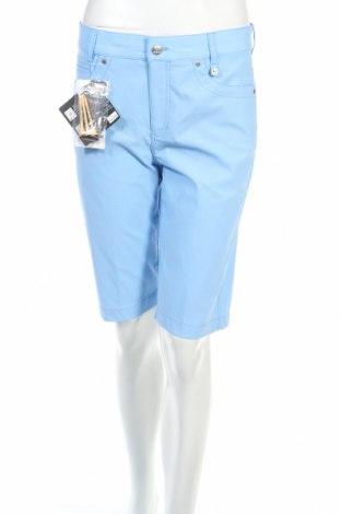 Γυναικείο κοντό παντελόνι Golfino, Μέγεθος M, Χρώμα Μπλέ, 94% πολυαμίδη, 6% ελαστάνη, Τιμή 13,12€