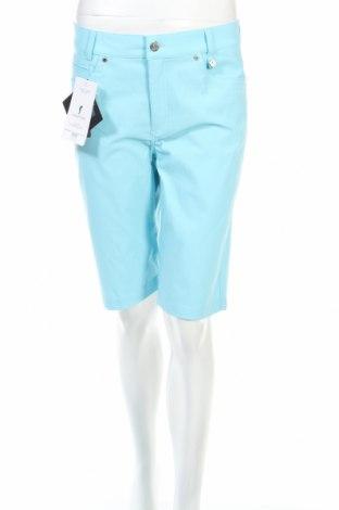 Дамски къс панталон Golfino, Размер M, Цвят Син, 94% полиамид, 6% еластан, Цена 22,80лв.