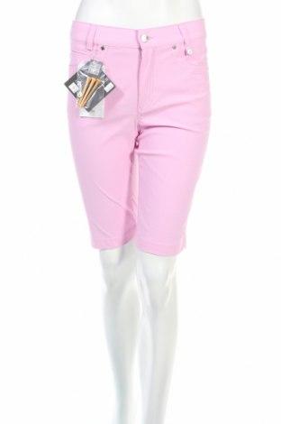 Дамски къс панталон Golfino, Размер M, Цвят Розов, 94% полиамид, 6% еластан, Цена 22,80лв.