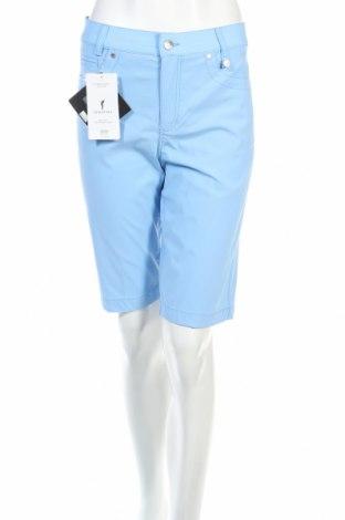 Γυναικείο κοντό παντελόνι Golfino, Μέγεθος S, Χρώμα Μπλέ, 94% πολυαμίδη, 6% ελαστάνη, Τιμή 10,98€