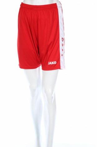 Дамски къс панталон Jako, Размер M, Цвят Червен, Полиестер, Цена 5,50лв.
