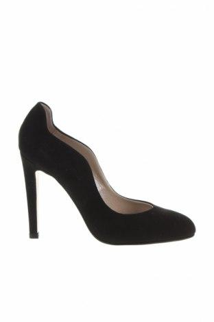 Дамски обувки Roberto Botella, Размер 36, Цвят Черен, Естествен велур, Цена 54,90лв.