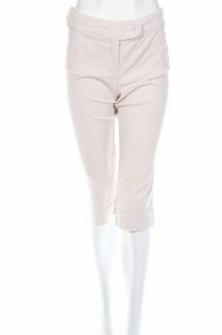 Дамски панталон Camaieu, Размер S, Цвят Бежов, 97% памук, 3% еластан, Цена 24,70лв.