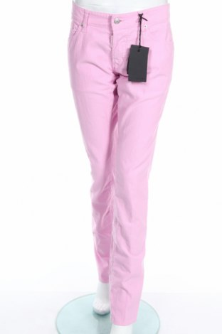 Γυναικείο κοτλέ παντελόνι Dsquared2, Μέγεθος XL, Χρώμα Ρόζ , Βαμβάκι, Τιμή 37,81€
