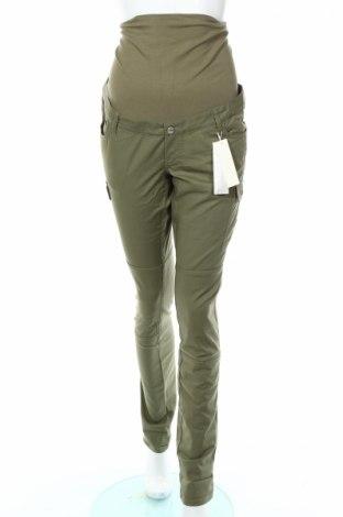 Панталон за бременни Esprit, Размер M, Цвят Зелен, 97% памук, 3% еластан, Цена 39,60лв.