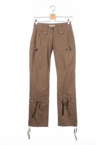 Дамски панталон Stratt, Размер XS, Цвят Кафяв, Цена 9,86лв.