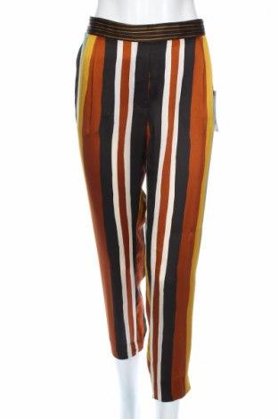 Дамски панталон Zara, Размер S, Цвят Многоцветен, Полиестер, Цена 19,80лв.