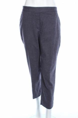 Γυναικείο παντελόνι Zara, Μέγεθος M, Χρώμα Μπλέ, 63% πολυεστέρας, 36% βισκόζη, 1% ελαστάνη, Τιμή 7,22€