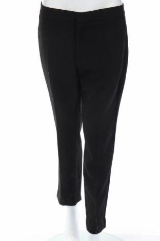 Pantaloni de femei Zara, Mărime M, Culoare Negru, 94% poliester, 6% elastan, Preț 69,87 Lei
