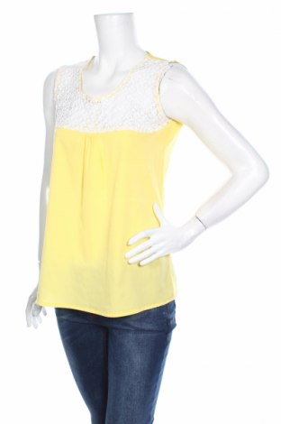 Γυναικείο αμάνικο μπλουζάκι Bel&bo, Μέγεθος S, Χρώμα Κίτρινο, Τιμή 2,78€