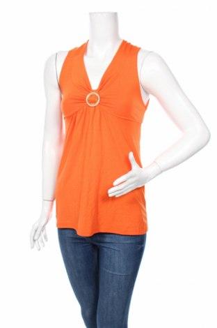 Дамски потник GIOVANE, Размер S, Цвят Оранжев, 95% вискоза, 5% еластан, Цена 4,80лв.
