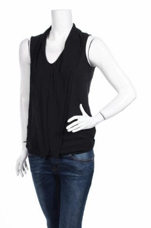 Γυναικείο αμάνικο μπλουζάκι Jbc, Μέγεθος M, Χρώμα Μαύρο, Πολυεστέρας, Τιμή 3,34€