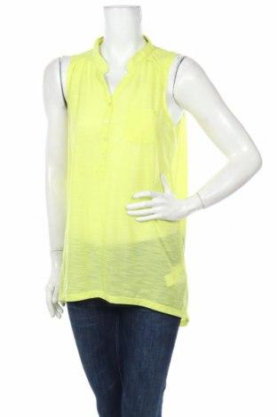 Γυναικείο αμάνικο μπλουζάκι K Woman, Μέγεθος L, Χρώμα Κίτρινο, Πολυεστέρας, Τιμή 3,68€
