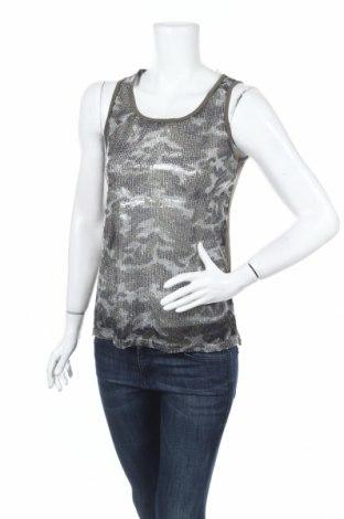 Γυναικείο αμάνικο μπλουζάκι K Woman, Μέγεθος S, Χρώμα Πράσινο, Τιμή 3,90€