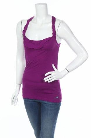 Γυναικείο αμάνικο μπλουζάκι Maui Wowie, Μέγεθος XS, Χρώμα Βιολετί, Βισκόζη, Τιμή 2,48€