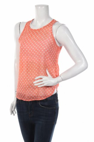 Γυναικείο αμάνικο μπλουζάκι Pink Woman, Μέγεθος S, Χρώμα Πορτοκαλί, Πολυεστέρας, Τιμή 2,97€
