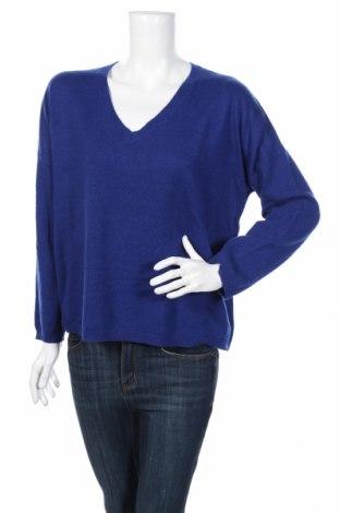 Γυναικείο πουλόβερ BELAIR, Μέγεθος L, Χρώμα Μπλέ, 100% κασμίρι, Τιμή 45,88€