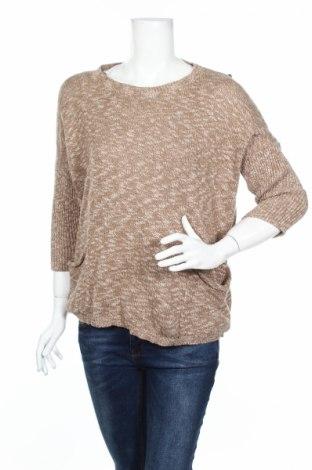 Дамски пуловер Complices, Размер L, Цвят Кафяв, Памук, Цена 20,52лв.