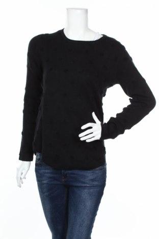Дамски пуловер Mango, Размер L, Цвят Черен, 84% памук, 16% полиестер, Цена 68,00лв.