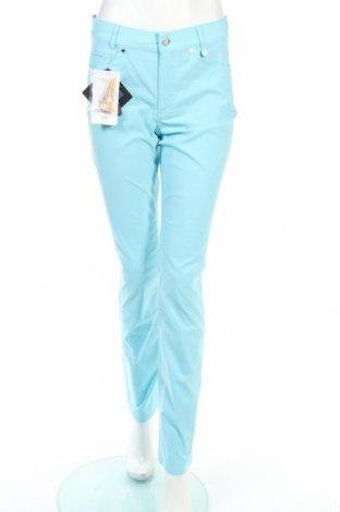 Дамски спортен панталон Golfino, Размер M, Цвят Син, 94% полиамид, 6% еластан, Цена 32,24лв.