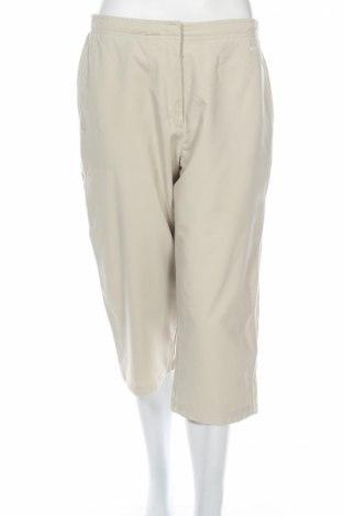 Дамски спортен панталон Nike, Размер L, Цвят Бежов, Полиестер, Цена 36,00лв.