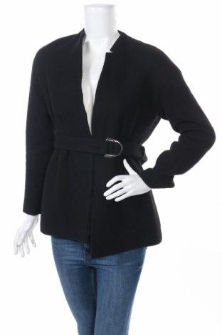 Γυναικείο παλτό Maje, Μέγεθος S, Χρώμα Μαύρο, 75% μαλλί, 23% πολυαμίδη, 2% άλλα υφάσματα, Τιμή 93,81€