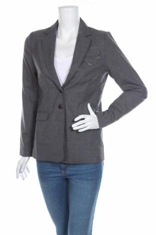 Γυναικείο σακάκι Ddp, Μέγεθος S, Χρώμα Γκρί, 55% πολυεστέρας, 43% μαλλί, 2% ελαστάνη, Τιμή 8,43€