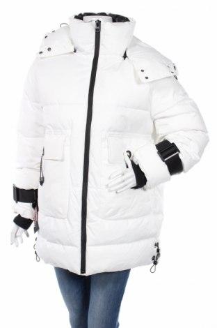 Γυναικείο μπουφάν Zara Trafaluc, Μέγεθος M, Χρώμα Λευκό, Πολυεστέρας, Τιμή 61,34€