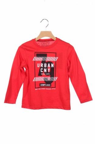 Παιδική μπλούζα Complices, Μέγεθος 4-5y/ 110-116 εκ., Χρώμα Κόκκινο, 65% πολυεστέρας, 35% βαμβάκι, Τιμή 5,93€