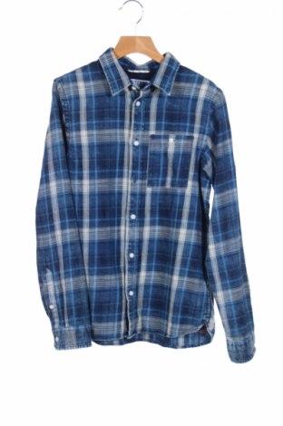 Dziecięca koszula Jack & Jones, Rozmiar 10-11y/ 146-152 cm, Kolor Niebieski, Bawełna, Cena 46,93zł