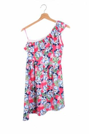 Детска рокля Abercrombie Kids, Размер 15-18y/ 170-176 см, Цвят Многоцветен, 93% полиестер, 7% еластан, Цена 13,00лв.