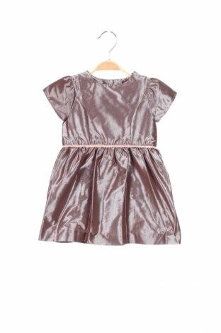 Dětské šaty  Jacadi, Rozměr 12-18m/ 80-86 cm, Barva Popelavě růžová, Polyester, Cena  407,00Kč