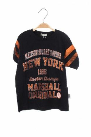 Детска тениска Marshal, Размер 6-7y/ 122-128 см, Цвят Черен, 100% памук, Цена 15,50лв.