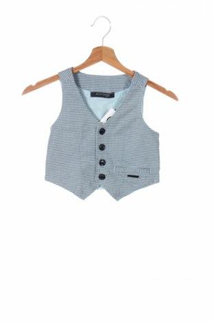 Детски елек Guess By Marciano, Размер 7-8y/ 128-134 см, Цвят Син, 97% памук, 3% еластан, Цена 23,70лв.