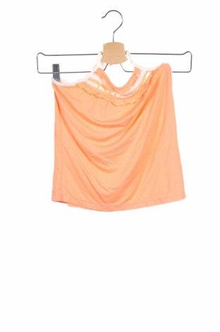 Детски потник, Размер 12-13y/ 158-164 см, Цвят Оранжев, 95% вискоза, 5% еластан, Цена 4,20лв.