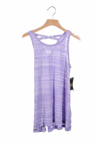 Μπλουζάκι αμάνικο παιδικό Athletic Works, Μέγεθος Ly, Χρώμα Βιολετί, 95% βισκόζη, 5% ελαστάνη, Τιμή 3,46€